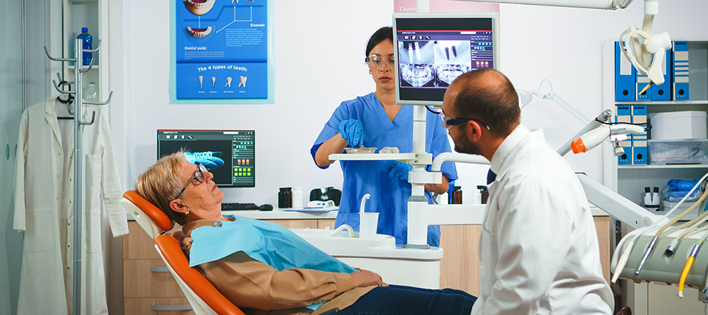 dental implant or dental bridge kanata